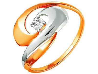 Золотое кольцо РусГолдАрт 1248203_1_5_1_18