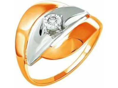 Золотое кольцо РусГолдАрт 1248203_1_5_1_17