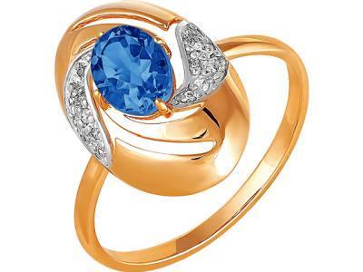Золотое кольцо РусГолдАрт 1254207_1_18_1_17