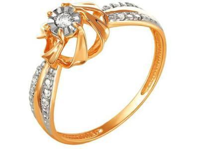Золотое кольцо РусГолдАрт 1243803_1_5_1_185