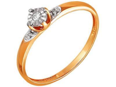 Золотое кольцо РусГолдАрт 1234603_1_5_1_155