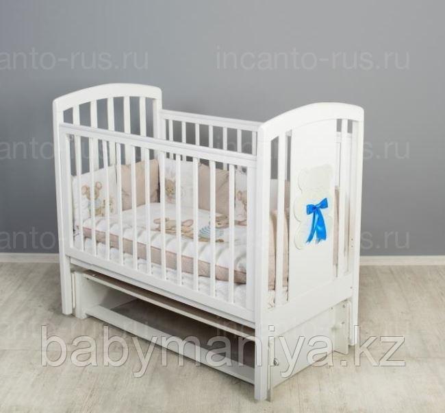 Кровать детская Incanto HUGGE маятник  белый