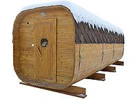 Баня-Бочка. 4 метра, Квадро, Сосна, фото 1