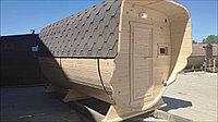 Баня-Бочка Комбо, 4 метра. Кедр, фото 1