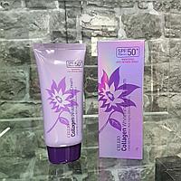 Солнцезащитный крем Коллаген Cellio Collagen Whitening Sun cream 50+/PA+++