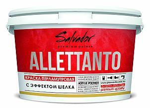 Перламутровая краска ALLETTANTO, эффект шёлка