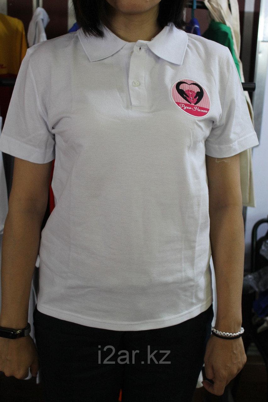 Футболки-поло с логотипом