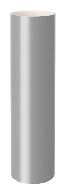 ТРУБА ВОДОСТОЧНАЯ диам. 100 мм  длина 3000 мм RAINWAY Серая