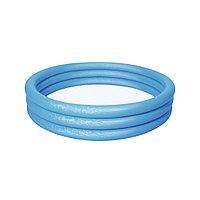 Детский надувной бассейн Play 152 х 30 см, BESTWAY, 51026 (51026E), Винил, 282л., 2+, Красный/Зеленый/Синий в ассортименте, Пакет