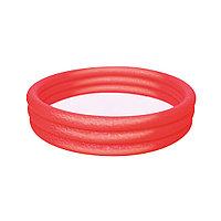 Детский надувной бассейн Play 183 х 33 см, BESTWAY, 51027 (51027E), Винил, 480л., 2+, Красный/Зеленый/Синий в ассортименте, Цветная коробка