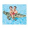 Надувная игрушка для катания верхом Аллигатор 170 х 86 см, INTEX, 57551NP, Винил, Фотореалистичная печать, С ручками, Цветная коробка, фото 2
