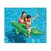 Надувная игрушка для катания верхом Крокодильчик 168 х 86 см, INTEX, 58546NP, Винил, С ручками, Зелёный, Цветная коробка, фото 2