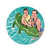 Надувная игрушка для катания верхом Крокодил 168 х 89 см, BESTWAY, 41010, Винил, С ручкой, Зеленый, Цветная коробка, фото 2