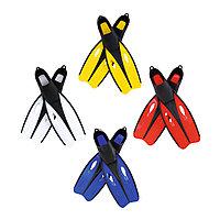 Ласты для плавания Endura р-р 38-39, BESTWAY, 27022, OCT технология, Latex free, Цвет в ассортименте, Сетка