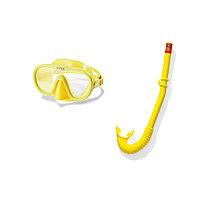 Набор для плавания Adventurer Swim Set 8+, INTEX, 55642, В наборе: 55916 - Маска для плавания Sea Scan с поликарбонатными линзами, 55922 - Трубка для