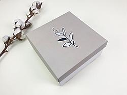 "Подарочная коробка ""Цветок"". Размер: 20*20*9"