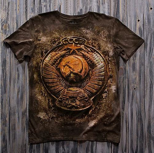 «Герб медный» молодежная мужская варенка футболка 3D