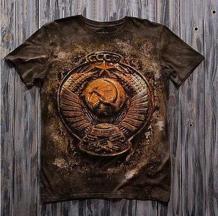 «Герб медный» молодежная мужская варенка футболка 3D, фото 2