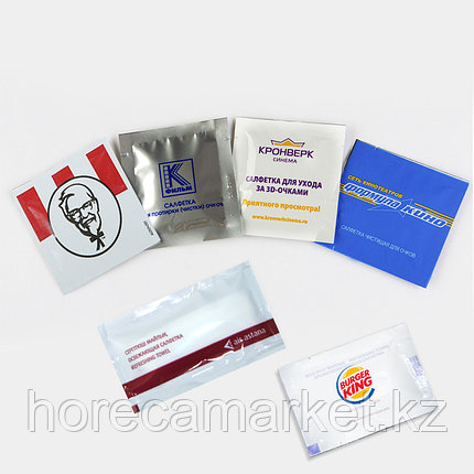 Влажные салфетки с логотипом заказчика, фото 2