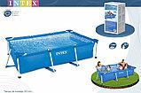 Каркасный бассейн прямоугольный 260x160x65 см, Intex 28271, фото 3