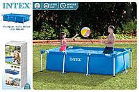 Каркасный бассейн прямоугольный 260x160x65 см, Intex 28271, фото 1