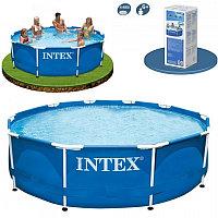 Каркасный бассейн с фильтром Intex  305*76, фото 1