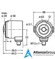 Энкодер TURCK RM-35H12E-3C25B-H1181