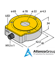Энкодер TURCK RI360P0-QR24M0-0100X2-H1181