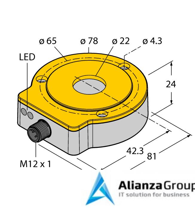 Энкодер TURCK RI360P0-QR24M0-4096X2-H1181