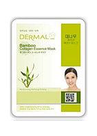 Dermal Bamboo Collagen Essence Mask Тканевая маска на основе эссенции побегов бамбука и коллагена.