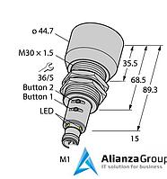 Ультразвуковой датчик TURCK RU600U-EM30E-LIU2PN8X2T-H1151/3GD