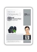 Dermal Charcoal Collagen Essence Mask Тканевая маска на основе эссенции древесного угля и коллагена