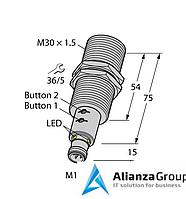 Ультразвуковой датчик TURCK RU130U-M30E-LIU2PN8X2T-H1151
