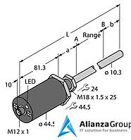 Датчик линейных перемещений TURCK LTX1700M-F10-LI0-X3-H1151