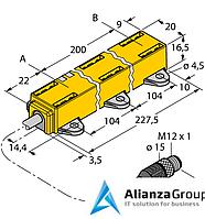Датчик линейных перемещений TURCK LI200P1-Q17LM1-LIU5X2-0.3-RS5