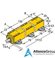 Датчик линейных перемещений TURCK LI150P1-Q17LM1-LIU5X2