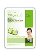 Dermal Cucumber Collagen Essence Mask Тканевая маска на основе эссенции плодов огурца и коллагена