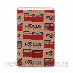 Полотенца бумажные Focus Extra Z -укладка 1-сл. 12x200лис
