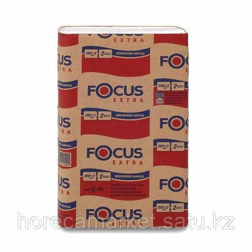 Бум.полотенце Focus Extra Z-сложения 12x200