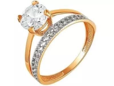 Золотое кольцо РусГолдАрт 1216707_1_1_1_18