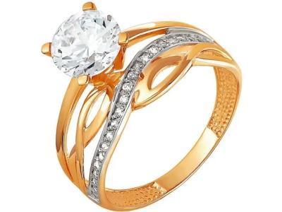 Золотое кольцо РусГолдАрт 1216507_1_1_1_18