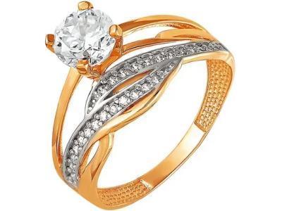 Золотое кольцо РусГолдАрт 1215807_1_1_1_18