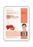 Dermal Strawberry Collagen Essence Mask Тканевая маска на основе эссенции плодов клубники и коллагена