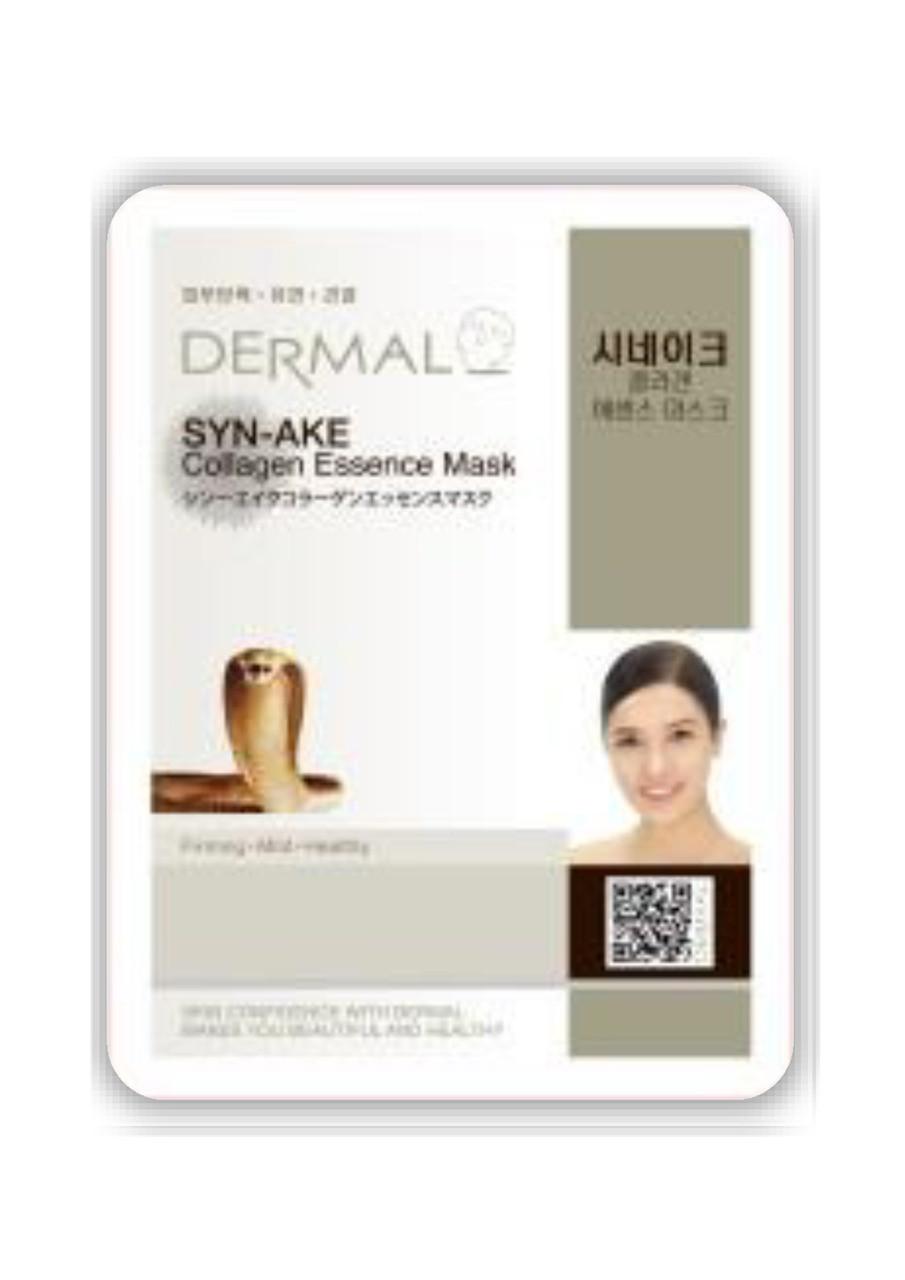 Dermal Syn-Ake Collagen Essence Mask Тканевая маска на основе эссенции пептидов- аналогов змеиного яда