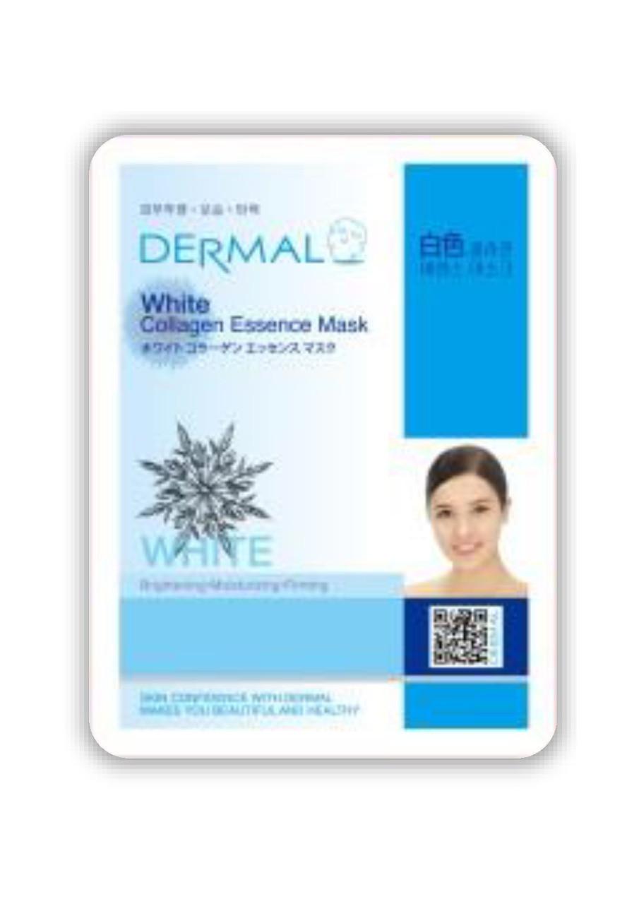 Dermal White Collagen Essence Mask Тканевая Осветляющая маска на основе эссенции коллагена