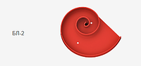Артикул БЛ-2. МЕГА-лекало для изготовления элементов ковки «волюта» и «завиток» в диаметре до 350 мм