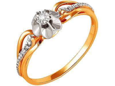 Золотое кольцо РусГолдАрт 1127313_1_5_1_165