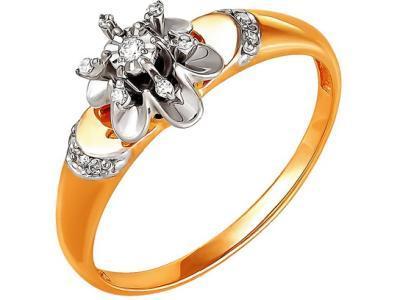Золотое кольцо РусГолдАрт 1127113_1_5_1_18