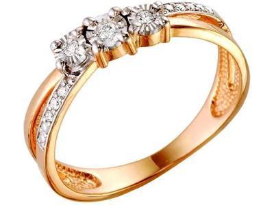 Золотое кольцо РусГолдАрт 1126303_1_5_1_18