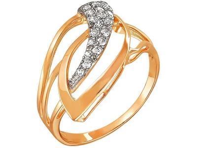 Золотое кольцо РусГолдАрт 1124907_1_1_1_19